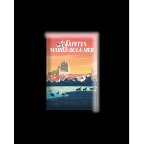 MAGNET SAINTES MARIES DE LA MER