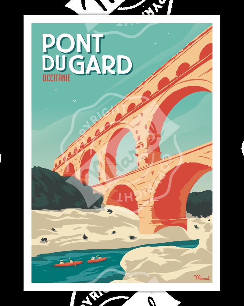 Poster LE PONT DU GARD