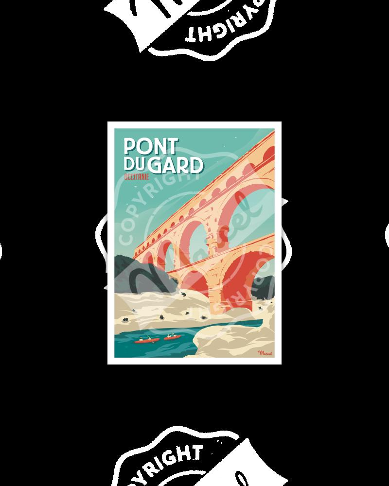 Postcard LE PONT DU GARD