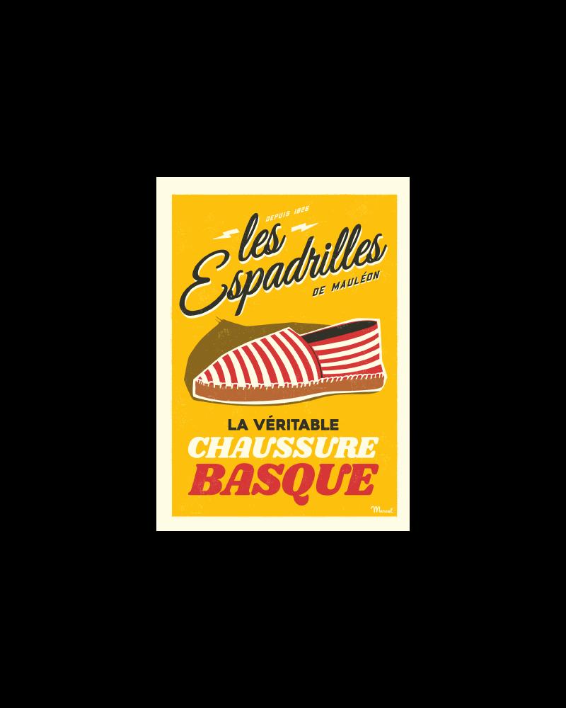 Postcard LES ESPADRILLES