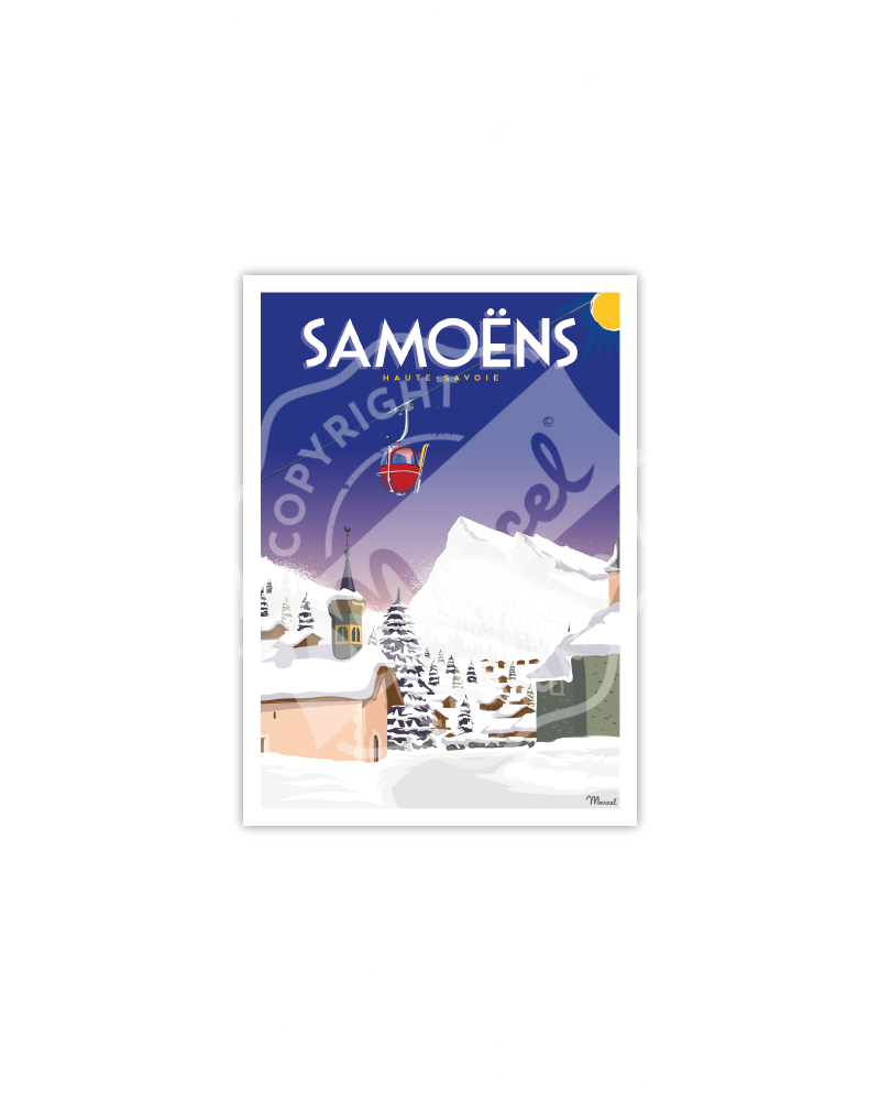 Cartes Postales SAMOENS