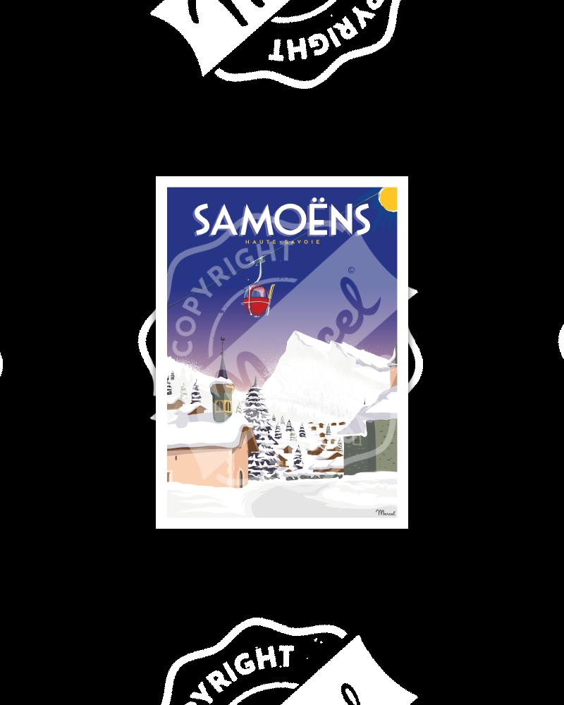 Postcard SAMOËNS
