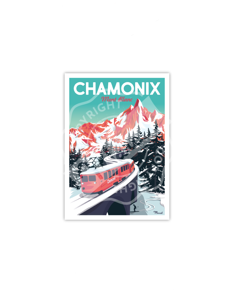 Cartes Postales CHAMONIX