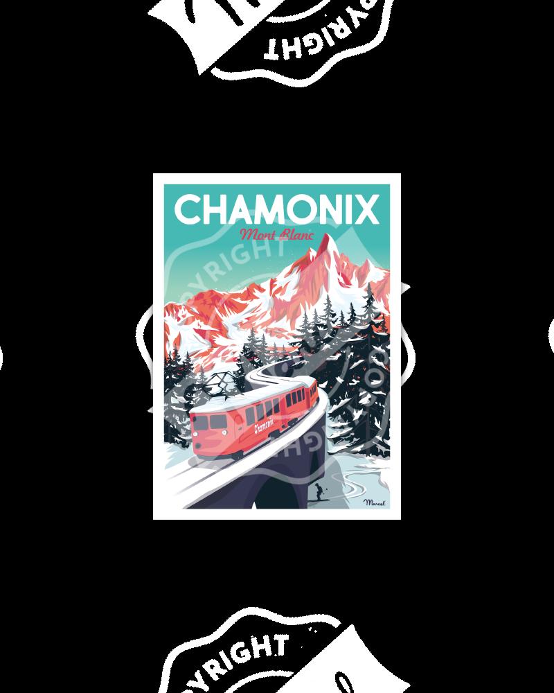 Postcard CHAMONIX