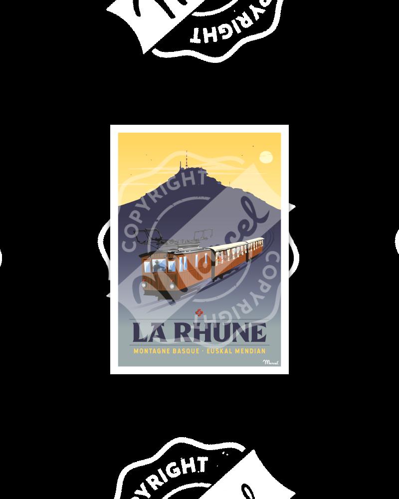 Postcard LA RHUNE
