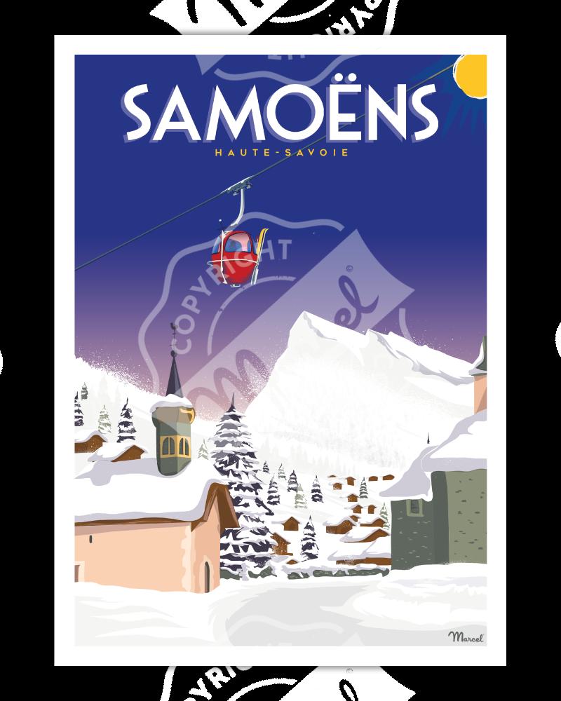 Affiche SAMOËNS