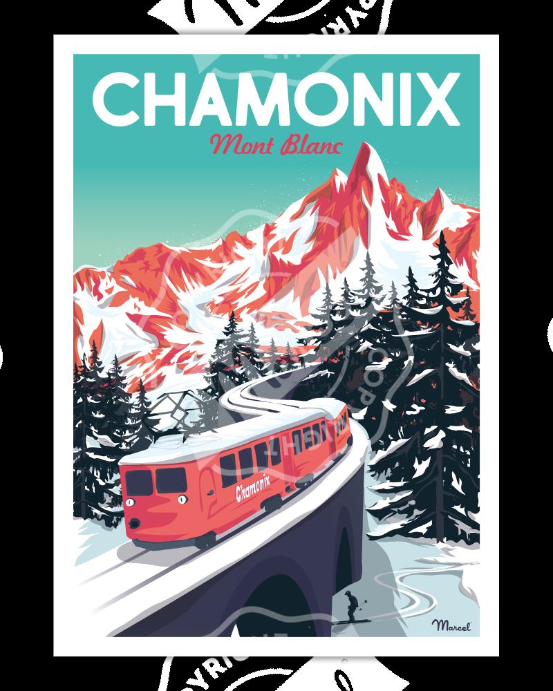 Poster CHAMONIX