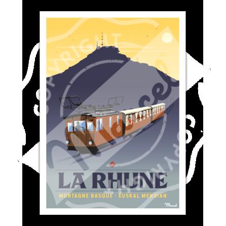 Poster LA RHUNE