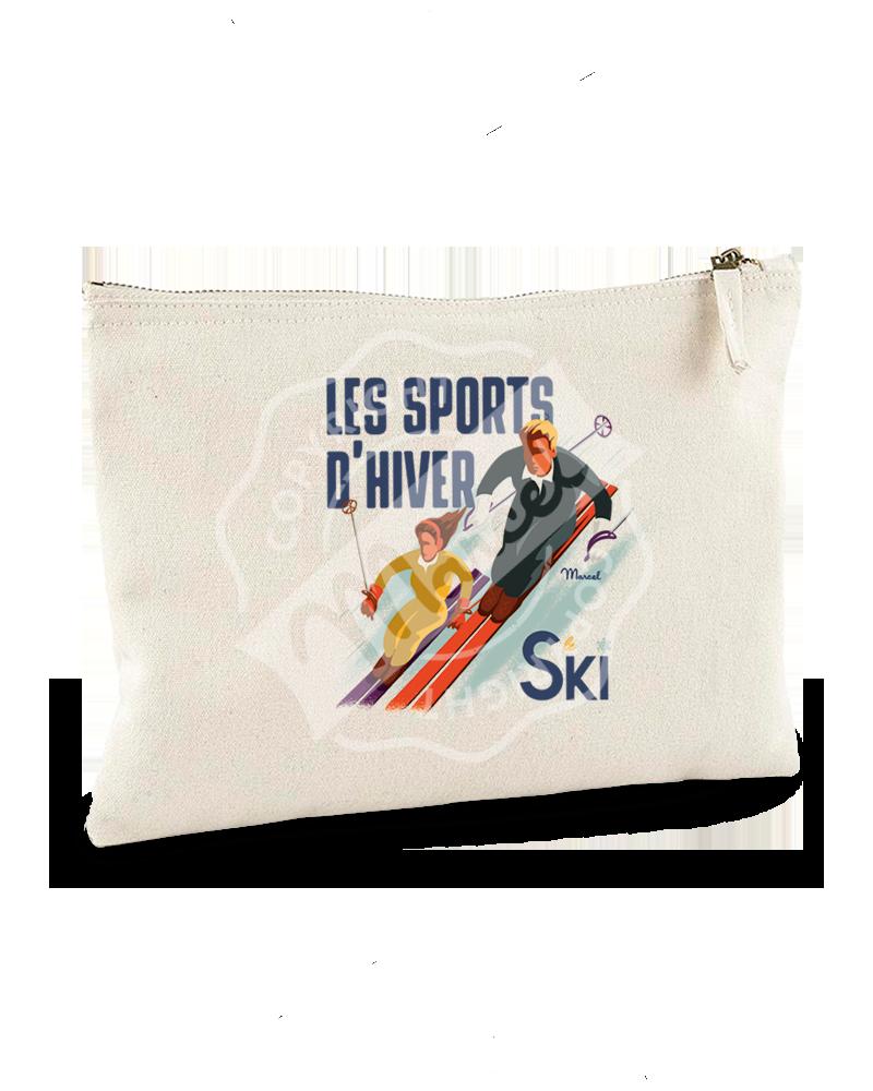 "Pochette ""Jeanne"" - Les Skieurs"
