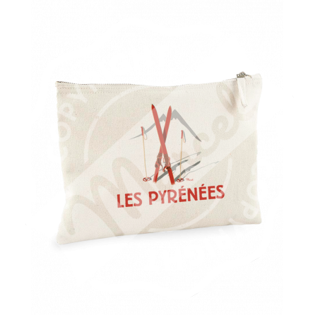 "Pouch ""Jeanne"" - Les Skis Rouges"