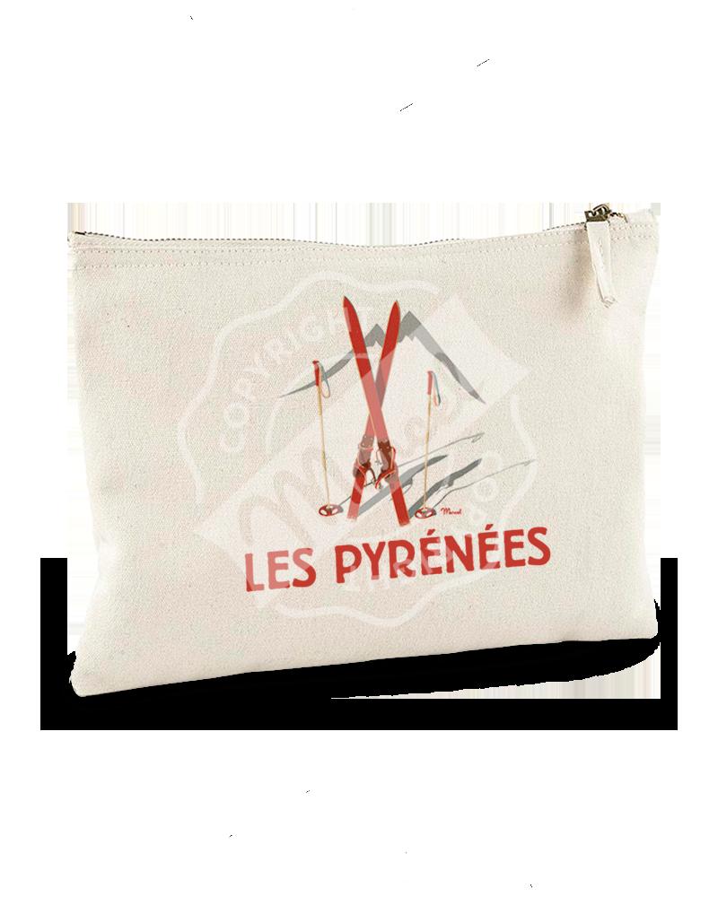 "Pochette ""Jeanne"" - Les Skis Rouges"