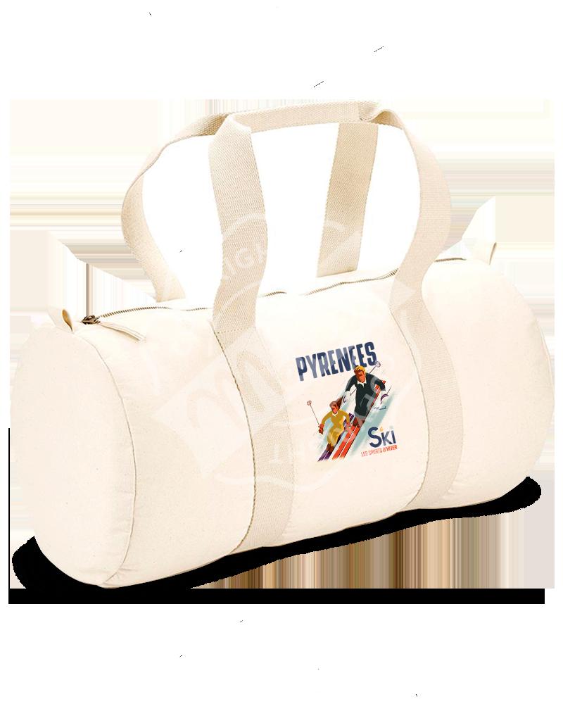 "Sports Duffle Bag ""Gaston"" - Les Skieurs"