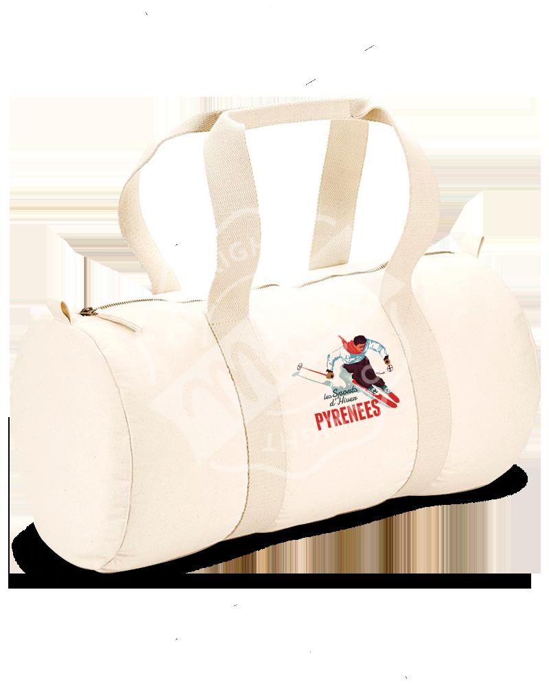"Sports Duffle Bag ""Gaston"" - Le Skieur"