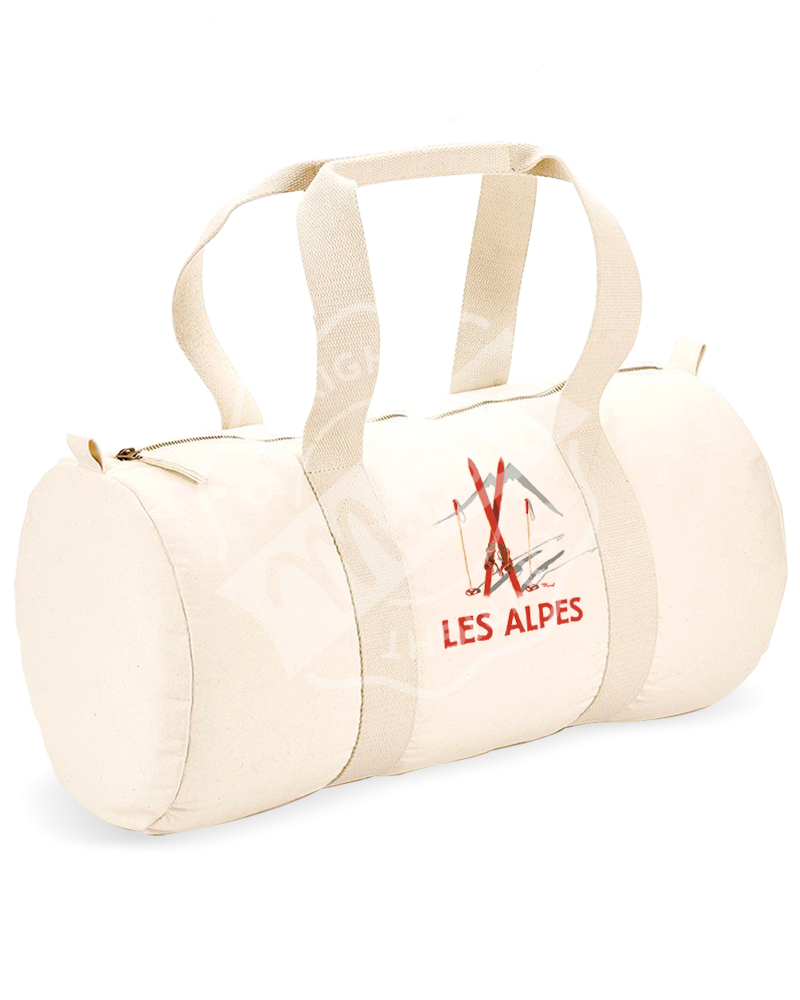 "Sports Duffle Bag "" Gaston "" - Les Skis Rouges"