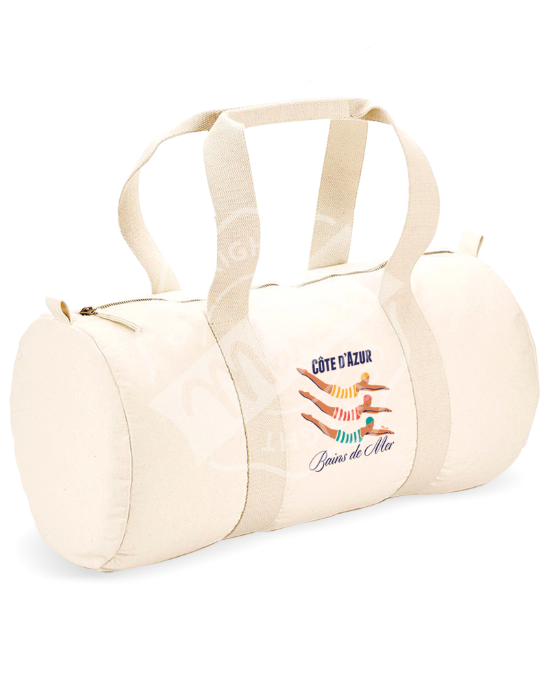 "Sports Duffle Bag "" Gaston "" - BAINS DE MER"