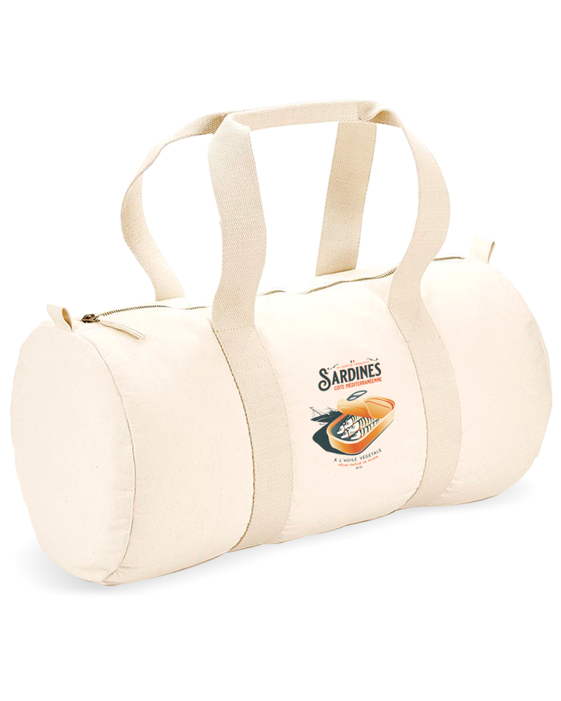 "Sports Duffle Bag ""Gaston"" - SARDINES"