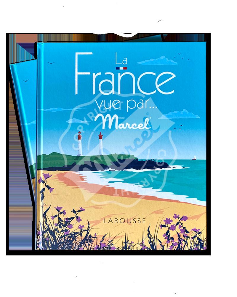 """Book """"La France vue par Marcel"""""""