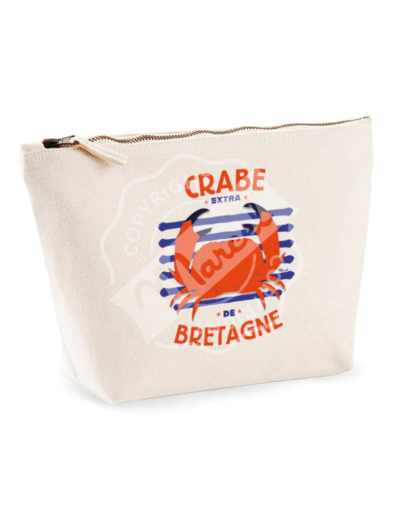 "Toiletry bag "" Colette "" - CRABE"