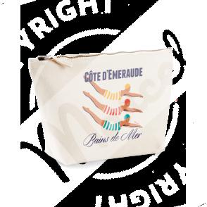 """Trousse de Toilette """"Colette"""" - BAINS DE MER"""