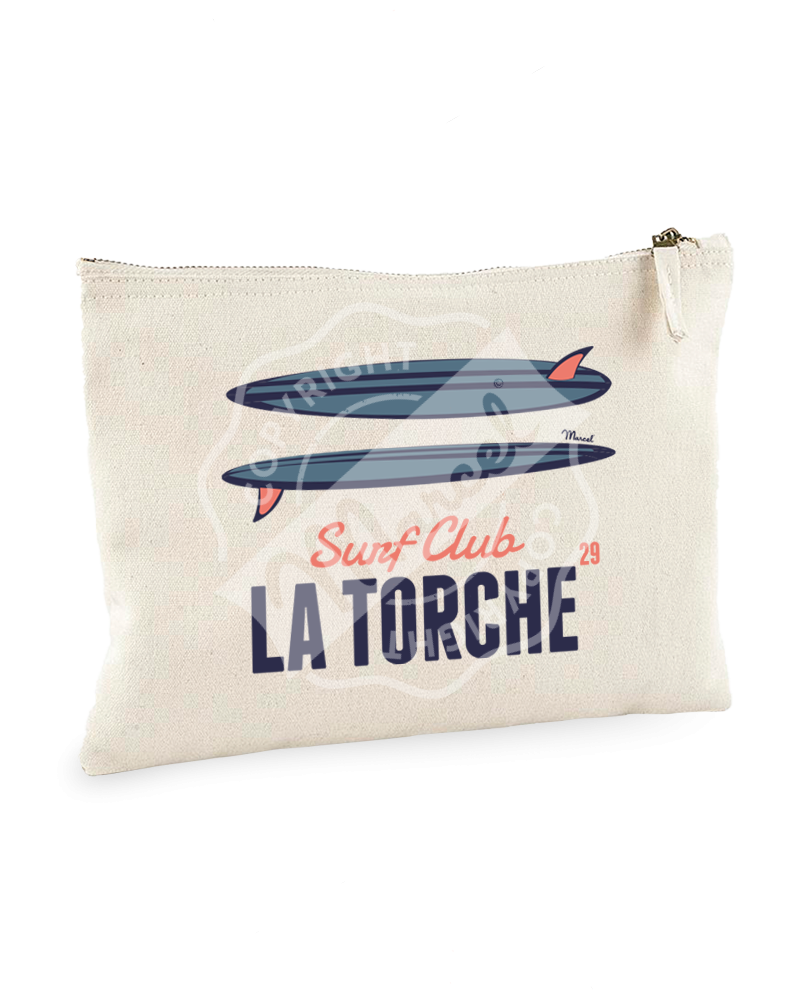 "Pouch "" Jeanne "" - SURF CLUB"