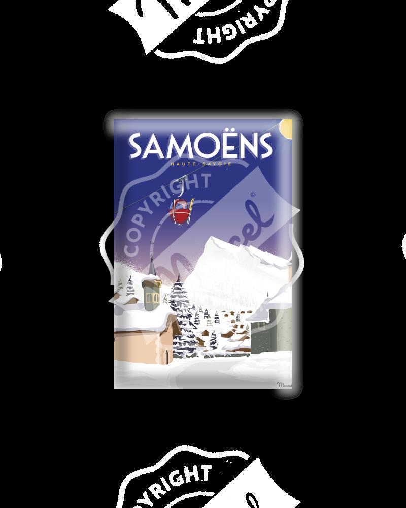 MAGNET SAMOENS