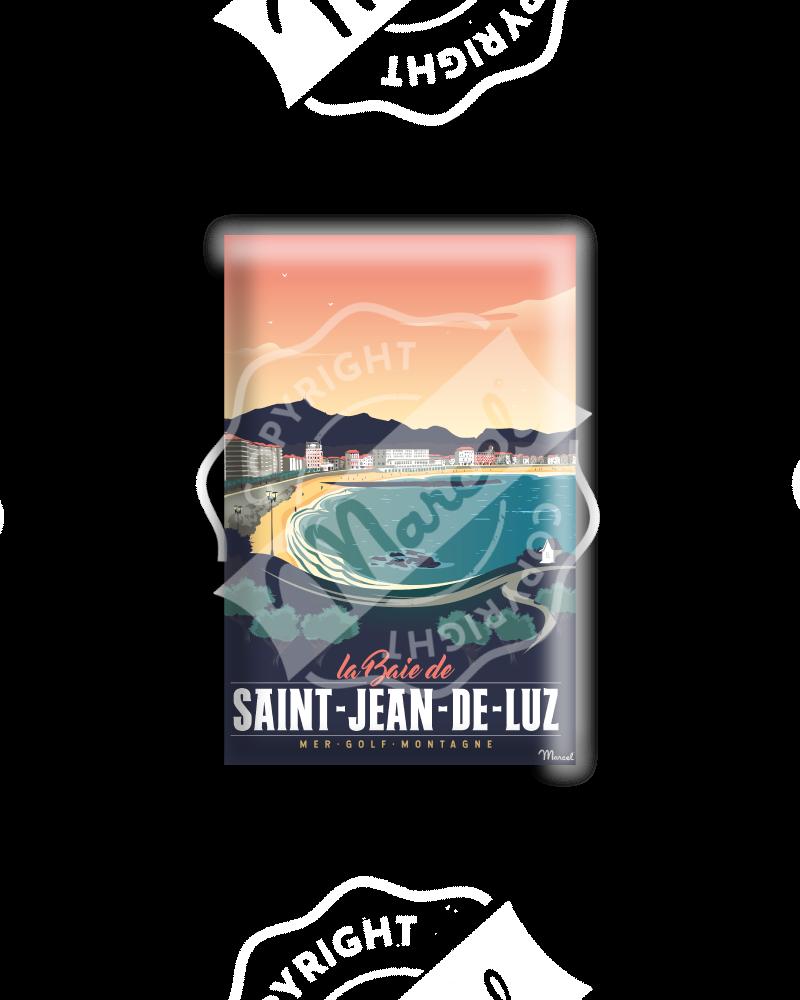 """MAGNET SAINT JEAN DE LUZ """"Sainte Barbe"""""""
