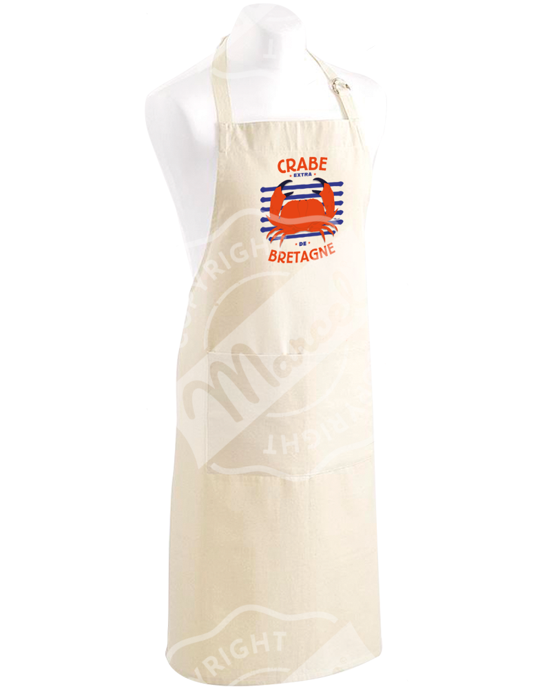 "Kitchen Apron "" Roger "" - CRABE"