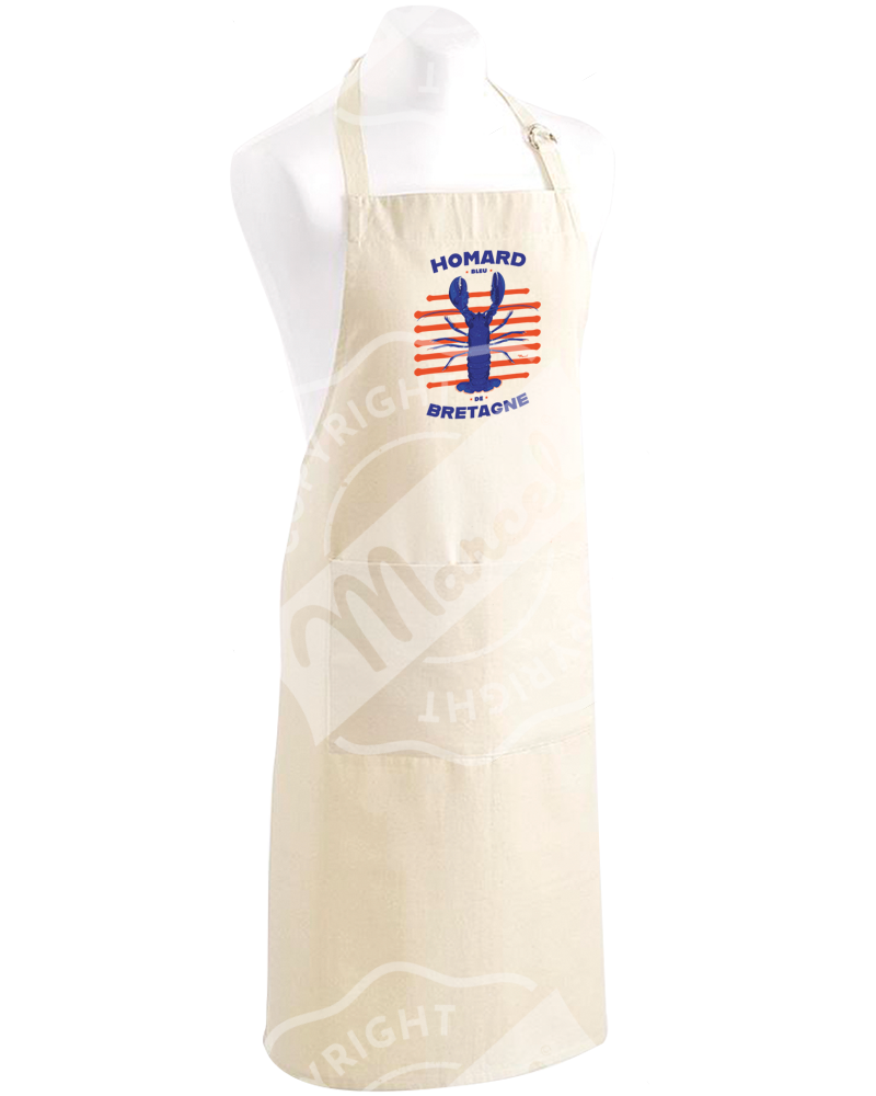 "Kitchen Apron "" Roger "" - HOMARD"