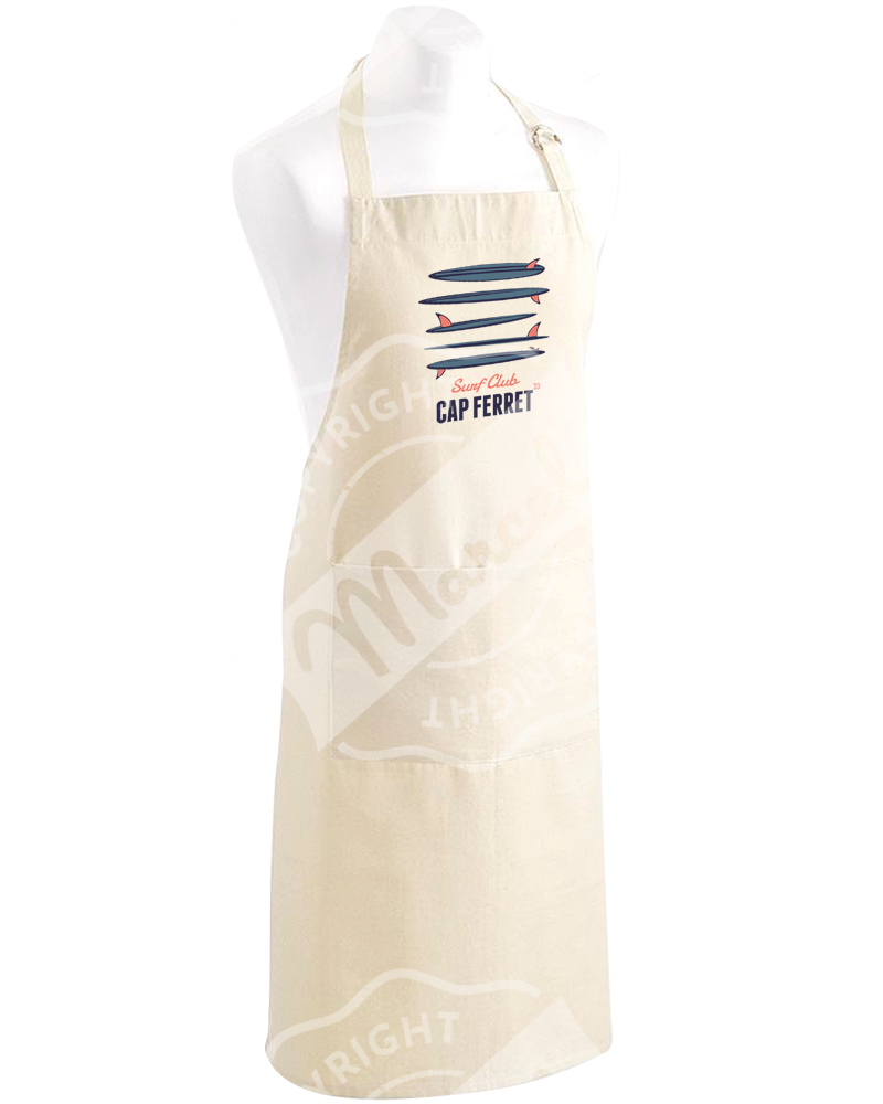"Kitchen Apron "" Roger "" - SURF CLUB"