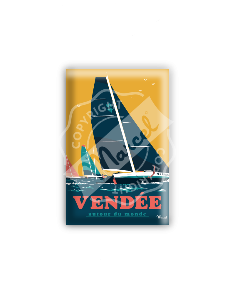 """MAGNET VENDEE """"Autour du Monde"""""""