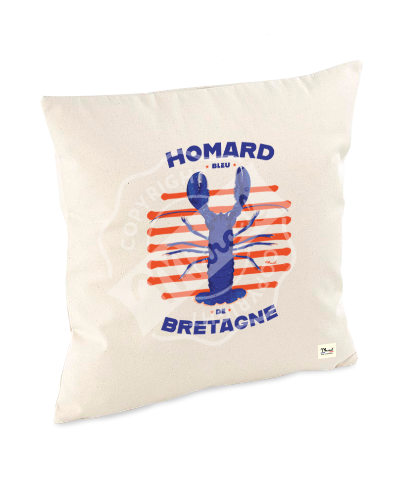"Cushion "" Lucien "" - HOMARD"