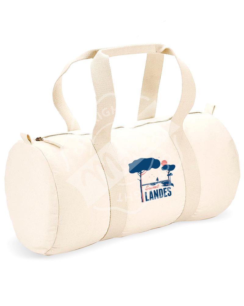 "Sports Duffle Bag "" Gaston "" - LES PINS BLEUS"