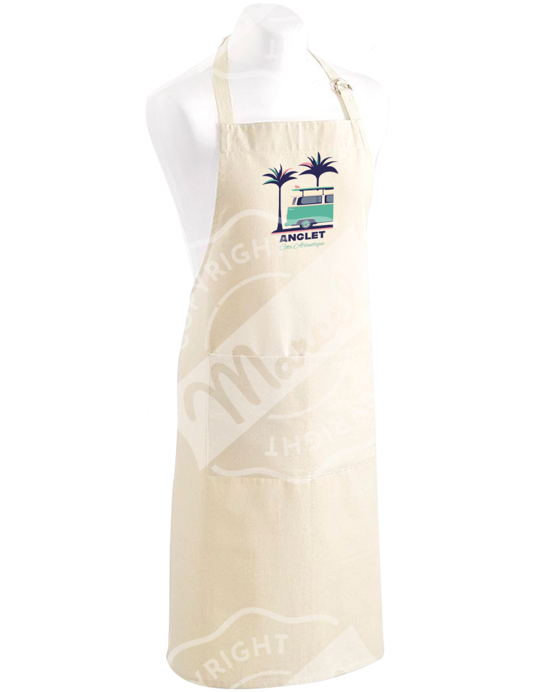 "Kitchen Apron "" Roger "" - PALMVAN"