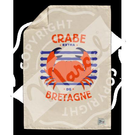 """Kitchen Towel """" Léon"""" - CRABE"""