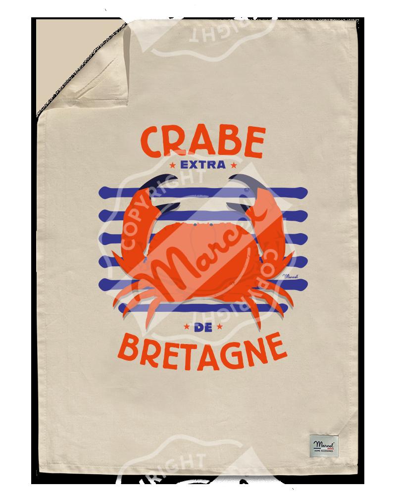 """Torchon de Cuisine """" Léon"""" - CRABE"""