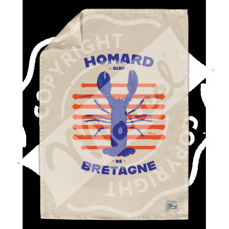 "Kitchen Towel "" Léon"" - HOMARD"