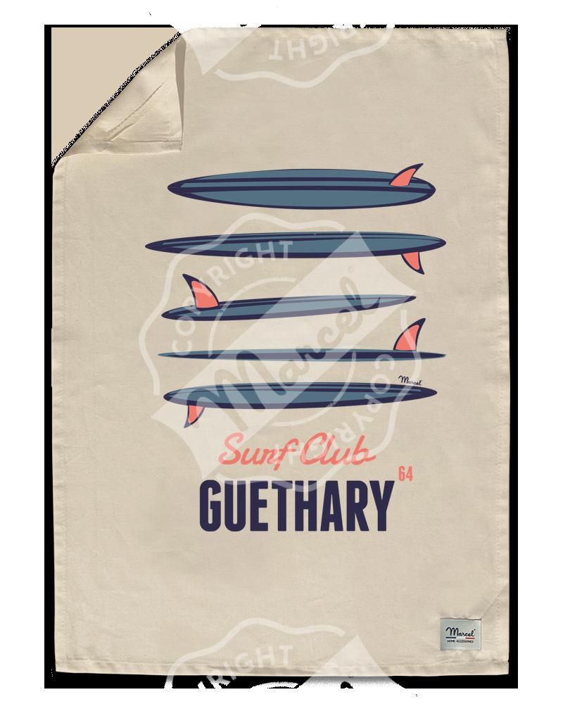 """Torchon de Cuisine """" Léon"""" - SURF CLUB"""