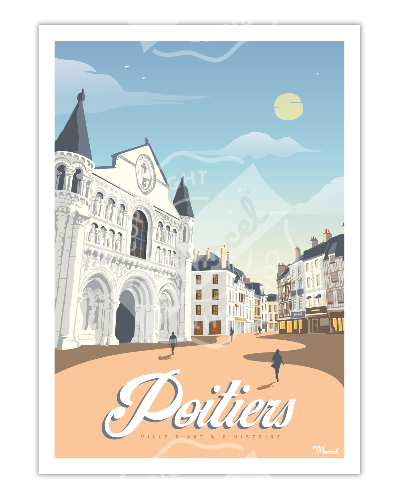 Poster POITIERS