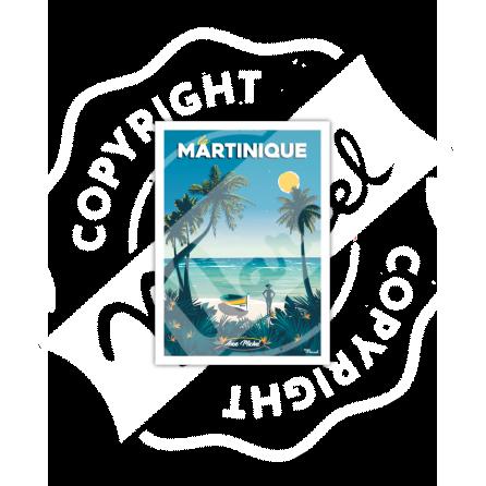 """Postcard MARTINIQUE """"Anse Michel"""""""