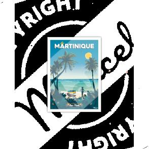 """Carte Postale MARTINIQUE """"Anse Michel"""""""