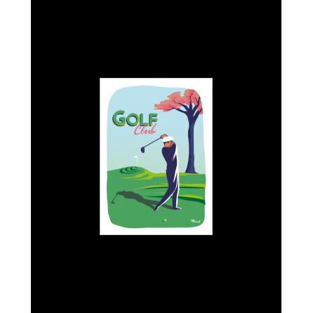 Postcard GOLF CLUB