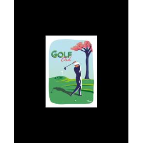 Carte Postale GOLF CLUB