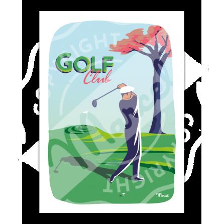Affiche GOLF CLUB
