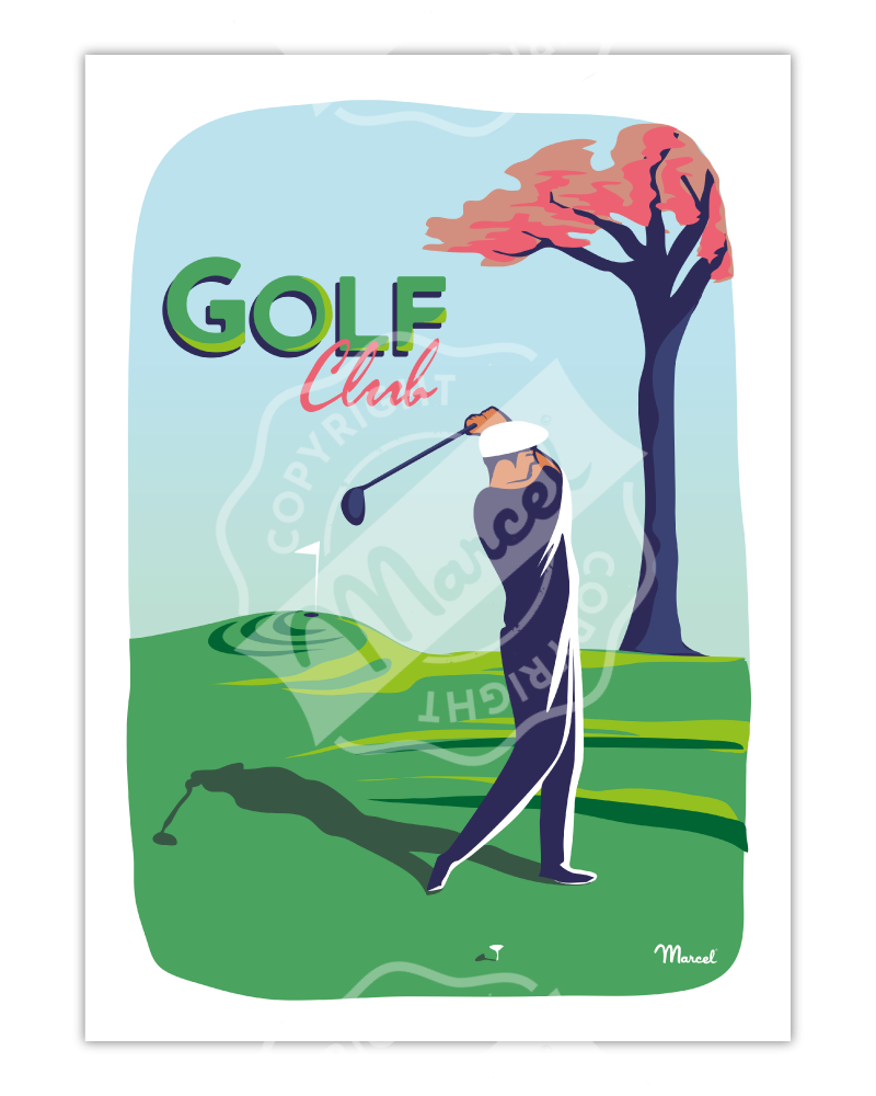 Poster GOLF CLUB