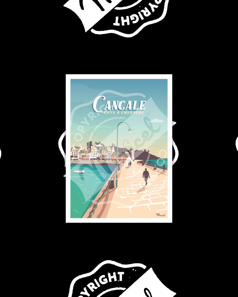 Carte Postale CANCALE