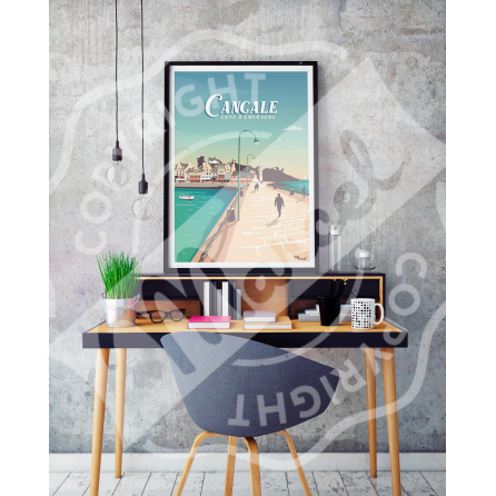 Affiche CANCALE