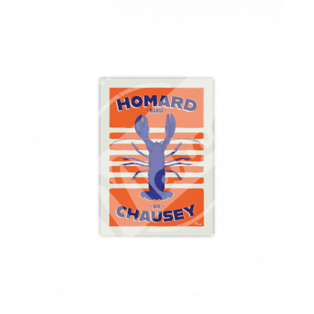 Carte Postale HOMARD BLEU DE CHAUSEY