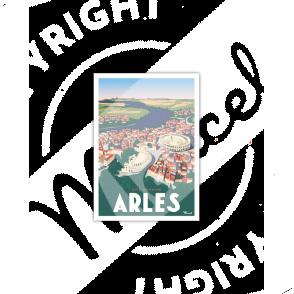 """Carte Postale ARLES """"Cité Romaine"""""""