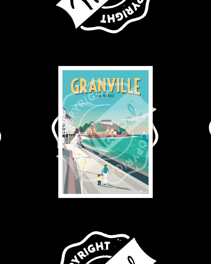 Postcard GRANVILLE