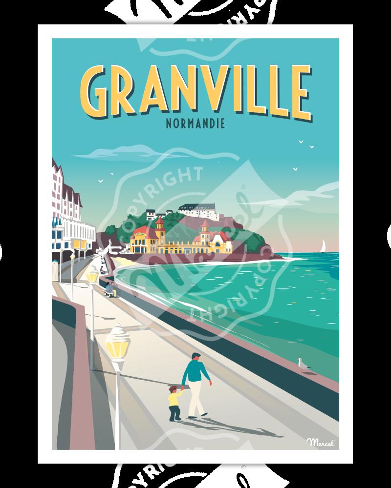 Poster GRANVILLE